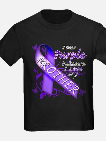 I Wear Purple I Love My Broth T