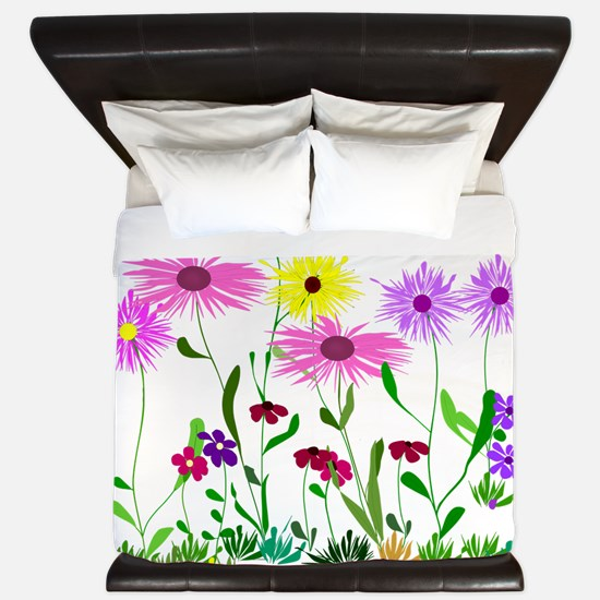 Flower Bunch King Duvet