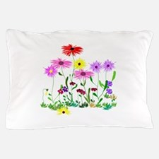 Flower Bunch Pillow Case