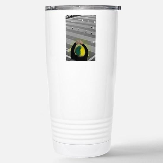 Oregon Ducks Fan Stainless Steel Travel Mug