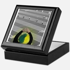Oregon Ducks Fan Keepsake Box