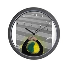 Oregon Ducks Fan Wall Clock
