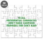 campaign merchandise Puzzle
