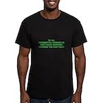 campaign merchandise Men's Fitted T-Shirt (dark)