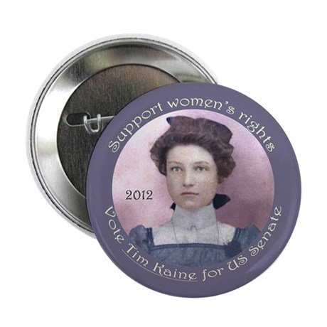 """Tim Kaine for Women's Rights 2.25"""" Button"""