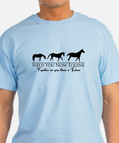 Need You Now Equine Mens Colour T-Shirt