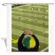 Oregon Ducks Fan 2 Shower Curtain