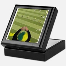 Oregon Ducks Fan 2 Keepsake Box