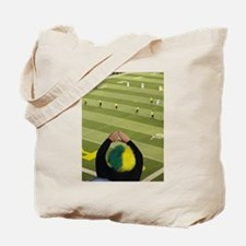 Oregon Ducks Fan 2 Tote Bag
