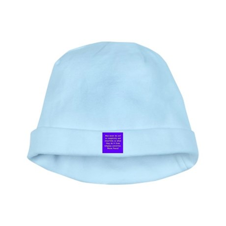 blaise pascal baby hat