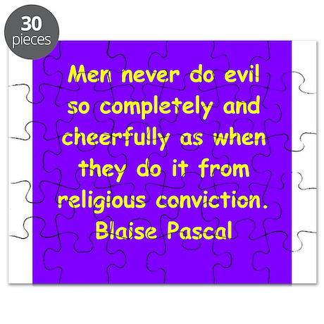 blaise pascal Puzzle