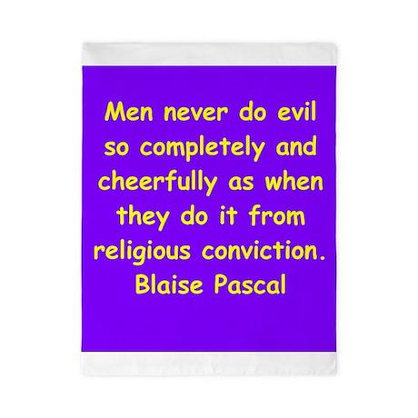 blaise pascal Twin Duvet