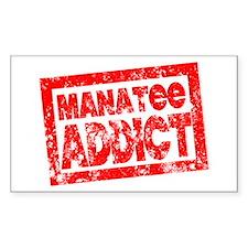 Manatee ADDICT Decal