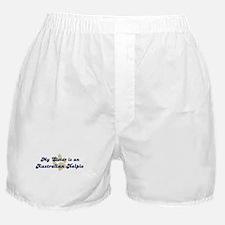 My Sister: Australian Kelpie Boxer Shorts
