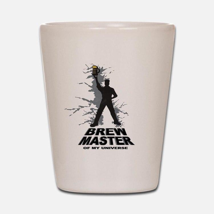 Home Brew Master Shot Glass
