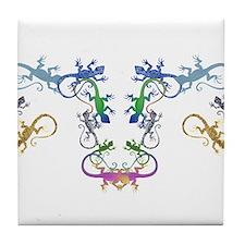 Lizzards Tile Coaster