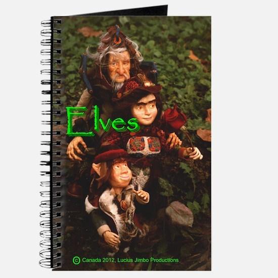 Elves: bright green text Journal