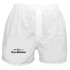My Sister: Coton De Tulear Boxer Shorts