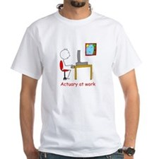 Actuary at Work/Actuary at Play t-shirt