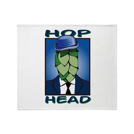 Hop Head Throw Blanket