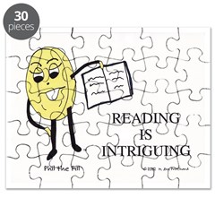 Reading is Intriguing! Puzzle by MAMP Creations