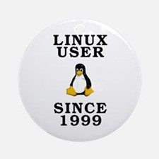 Linux user since 1999 - Ornament (Round)