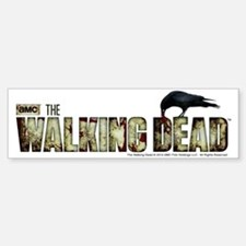 The Walking Dead Flesh Sticker (Bumper)