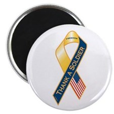 "Thank A Soldier 2.25"" Magnet (10 pack)"