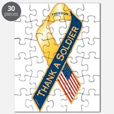 Thank A Soldier Puzzle