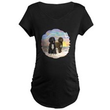 OceanSunrise-2PWD-brn+blk T-Shirt