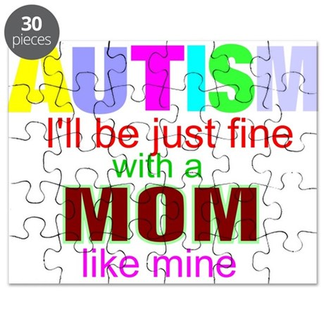 Autism ok with my mom Puzzle