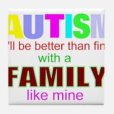 Autism Tile Coaster