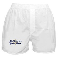 My Sister: Great Dane Boxer Shorts