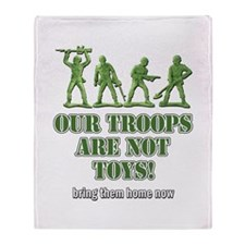 Our Troops... Throw Blanket