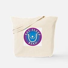 Eat Sleep Bead Tote Bag