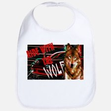 ride with the wolf Bib