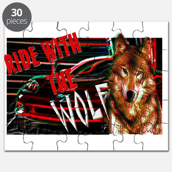 ride with the wolf Puzzle