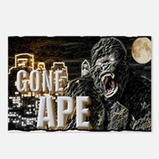gone ape Postcards (Package of 8)
