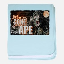 gone ape baby blanket