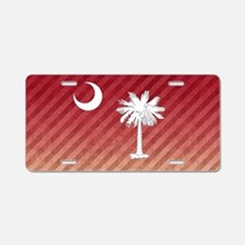 SC Palmetto Moon Aluminum License Plate
