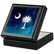 SC Palmetto Moon Keepsake Box