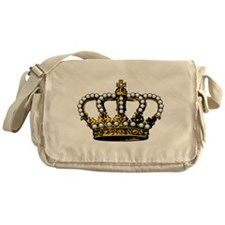 Royal Wedding Crown Messenger Bag