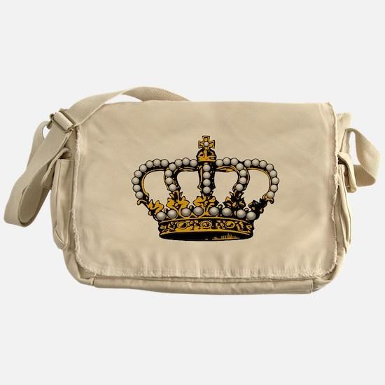 Royal Wedding Crown Messenger Bag