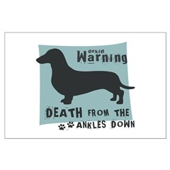 Doxie Warning Posters