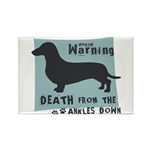 Doxie Warning Rectangle Magnet (100 pack)