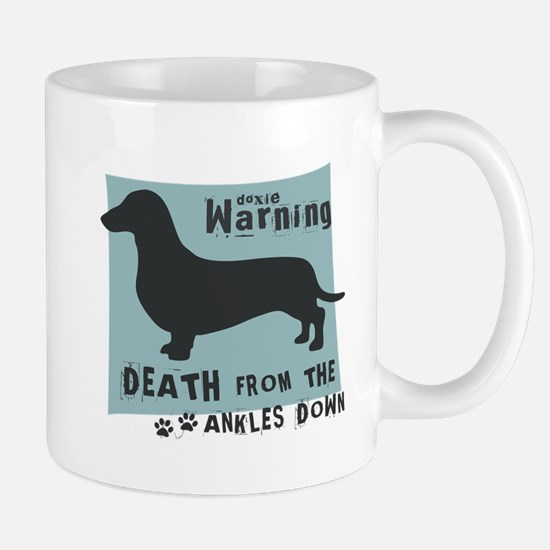 Doxie Warning Mug