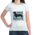 Doxie Warning Jr. Ringer T-Shirt