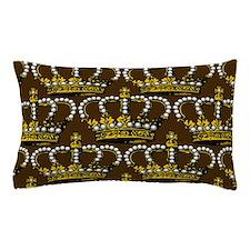 Royal Wedding Crown Pillow Case