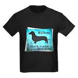 Dachshund t shirt Kids T-shirts (Dark)