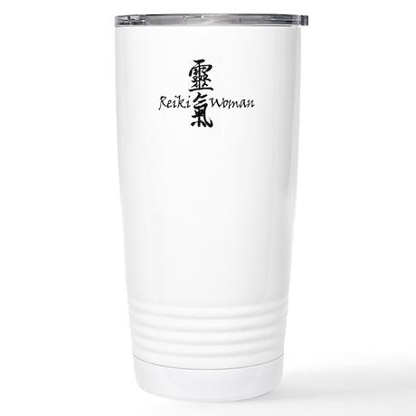 Reiki Woman Stainless Steel Travel Mug